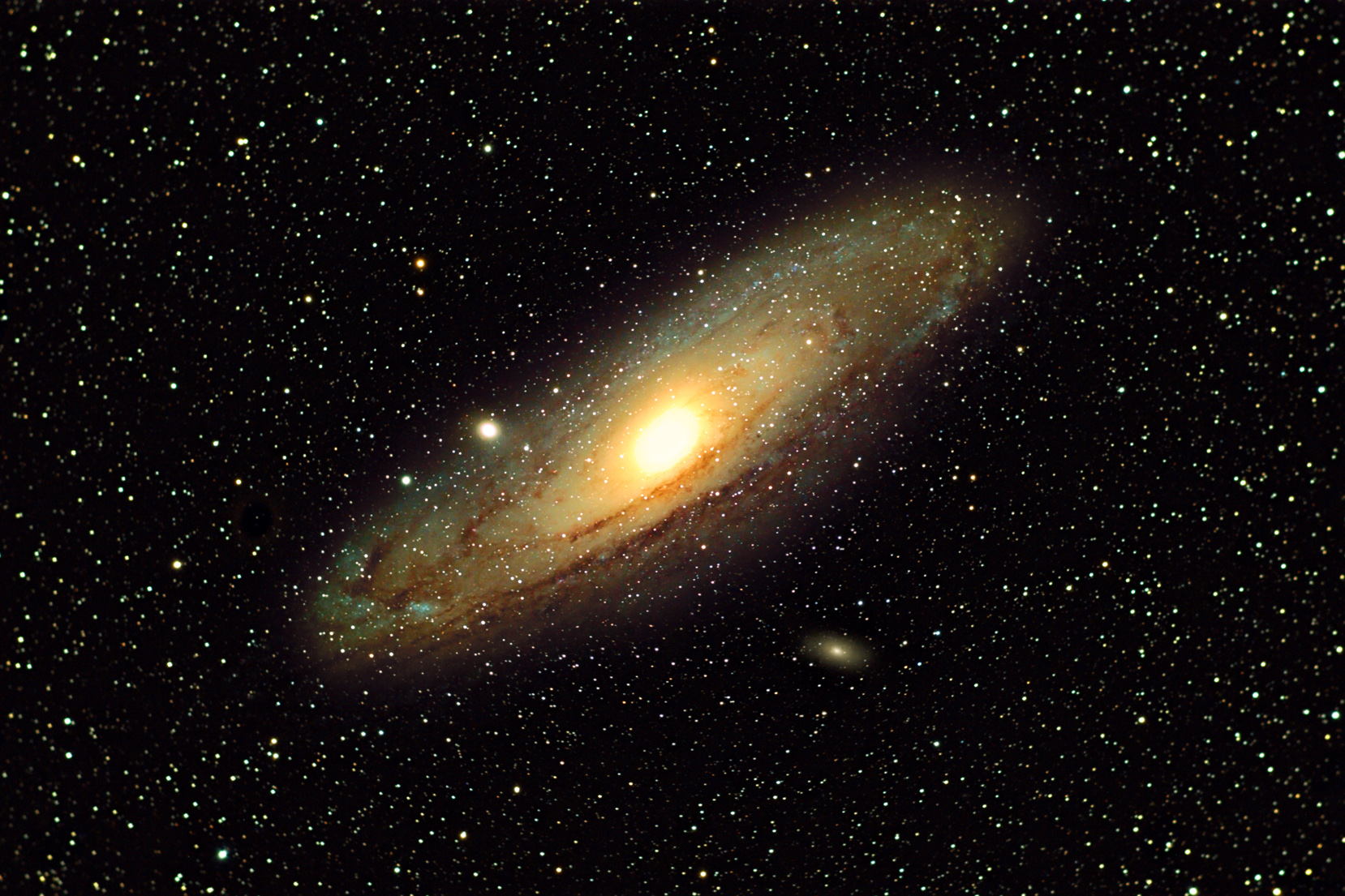 The Great Andromeda Galaxy (M31). Image taken by Scott Anttila.