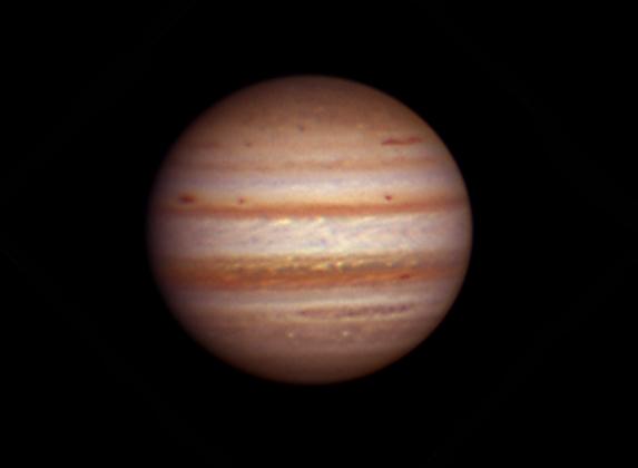 Jupiter by Scott Anttila. Taken Monday evening February 6, 2012