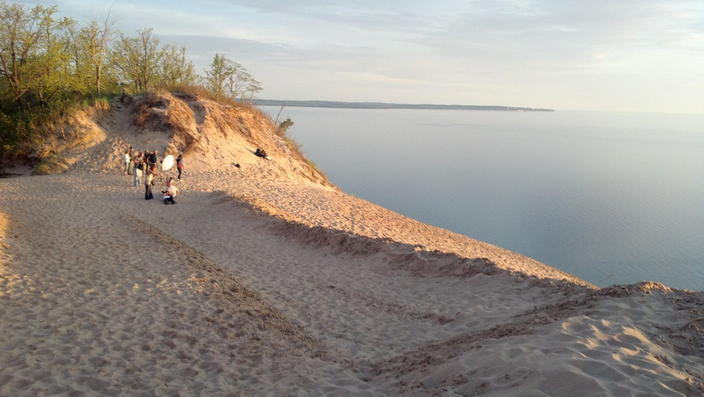 Lake Michigan Overlook Looking South