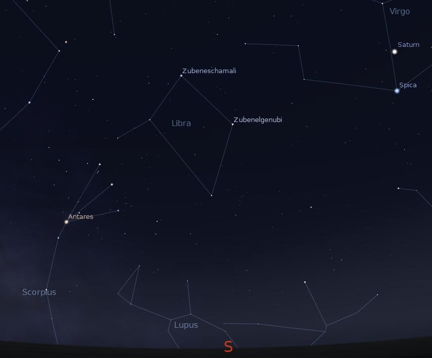 Libra Constellation Sc...