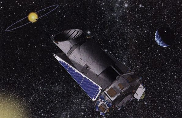 Kepler Spacecraft. Credit NASA.