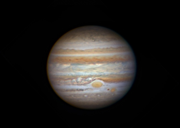 Jupiter with its Great Red Spot