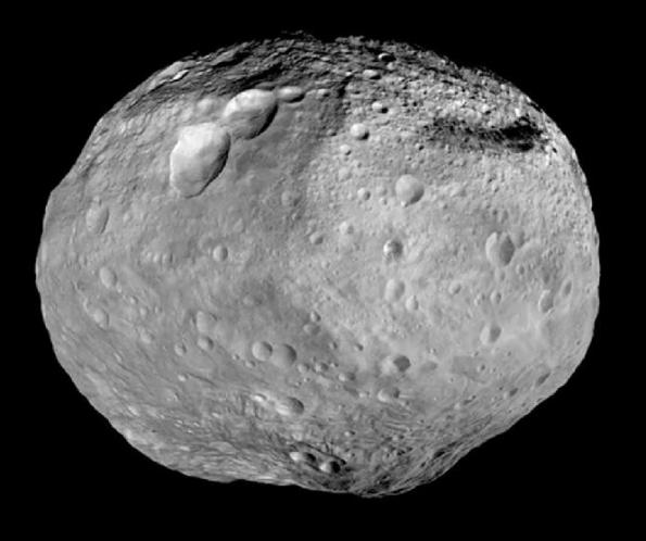 Vesta as Dawn headed off to Ceres.