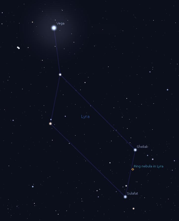 07/08/2012 – Ephemeris – How to find the Ring Nebula (M57 ...