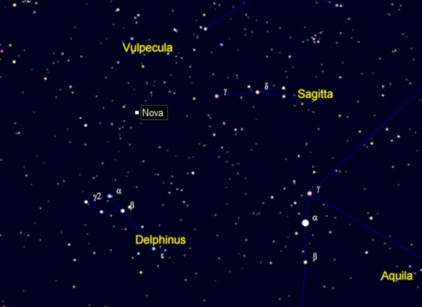 My finder chart for Nova Dephinus 2013