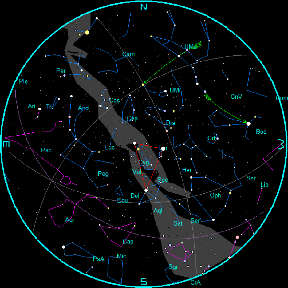 polaris star map - photo #21