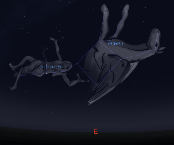 Andromeda and Pegasus
