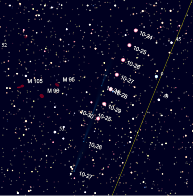 10/23/2013 – Ephemeris – Where are the bright planets and ...