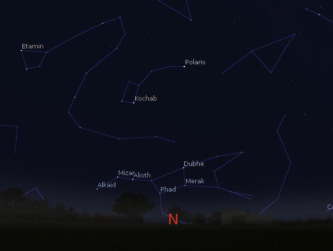 astronomy big dipper north - photo #17
