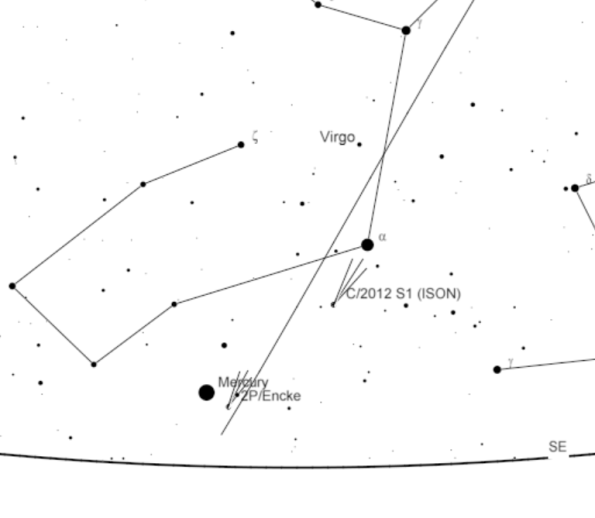 Comet ISON 11/19/13