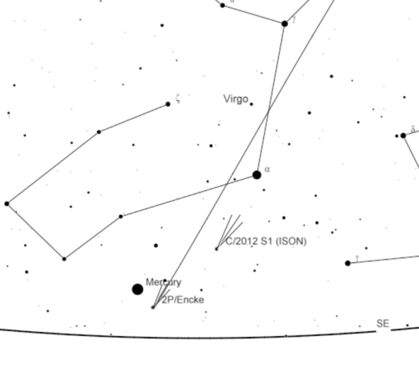 Comet ISON 11/20/13