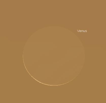Telescopic Venus