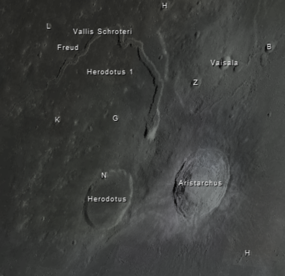 Aristarchus closeup