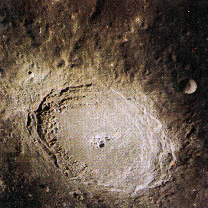The crater Langrenus