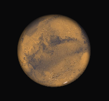 Mars tonight