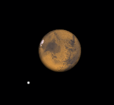 Telescopic Mars