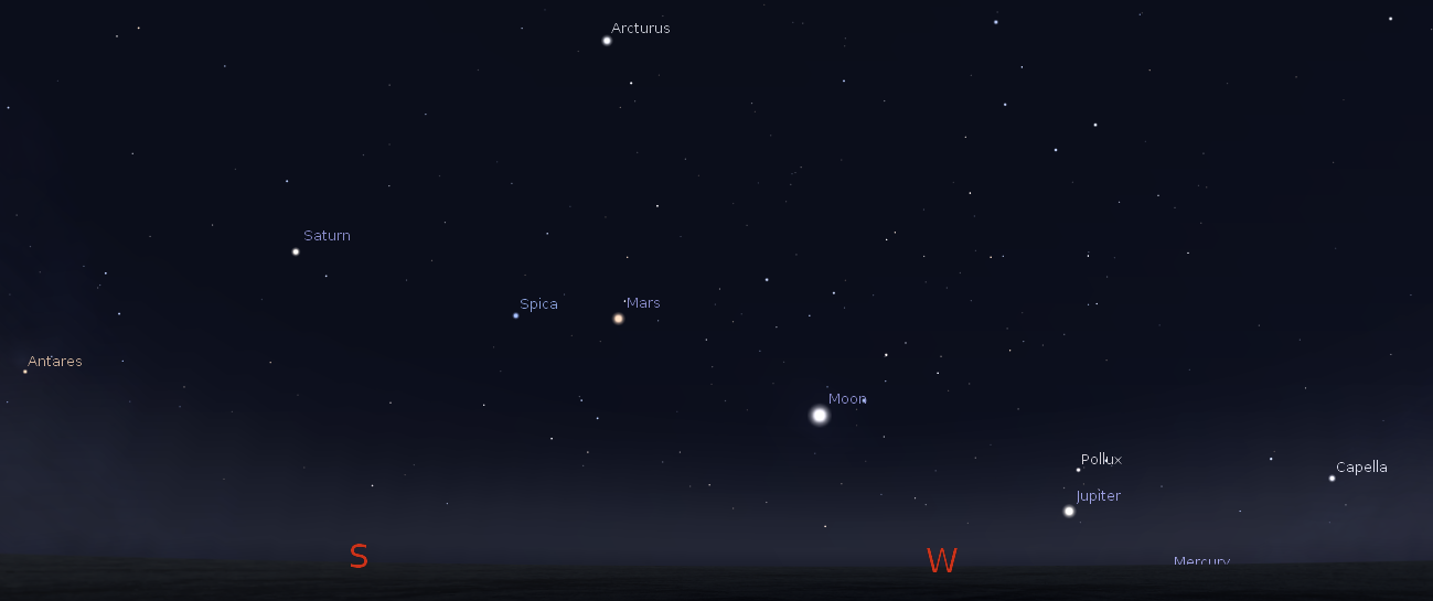 visible planets tonight november 25 - photo #8