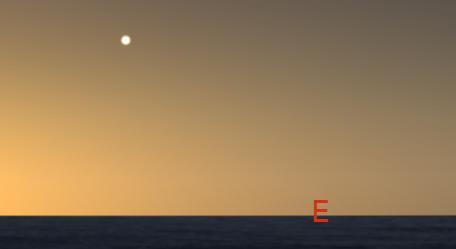 Venus in the east