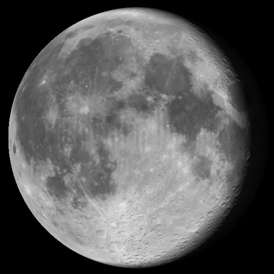 Moon tomorrow night