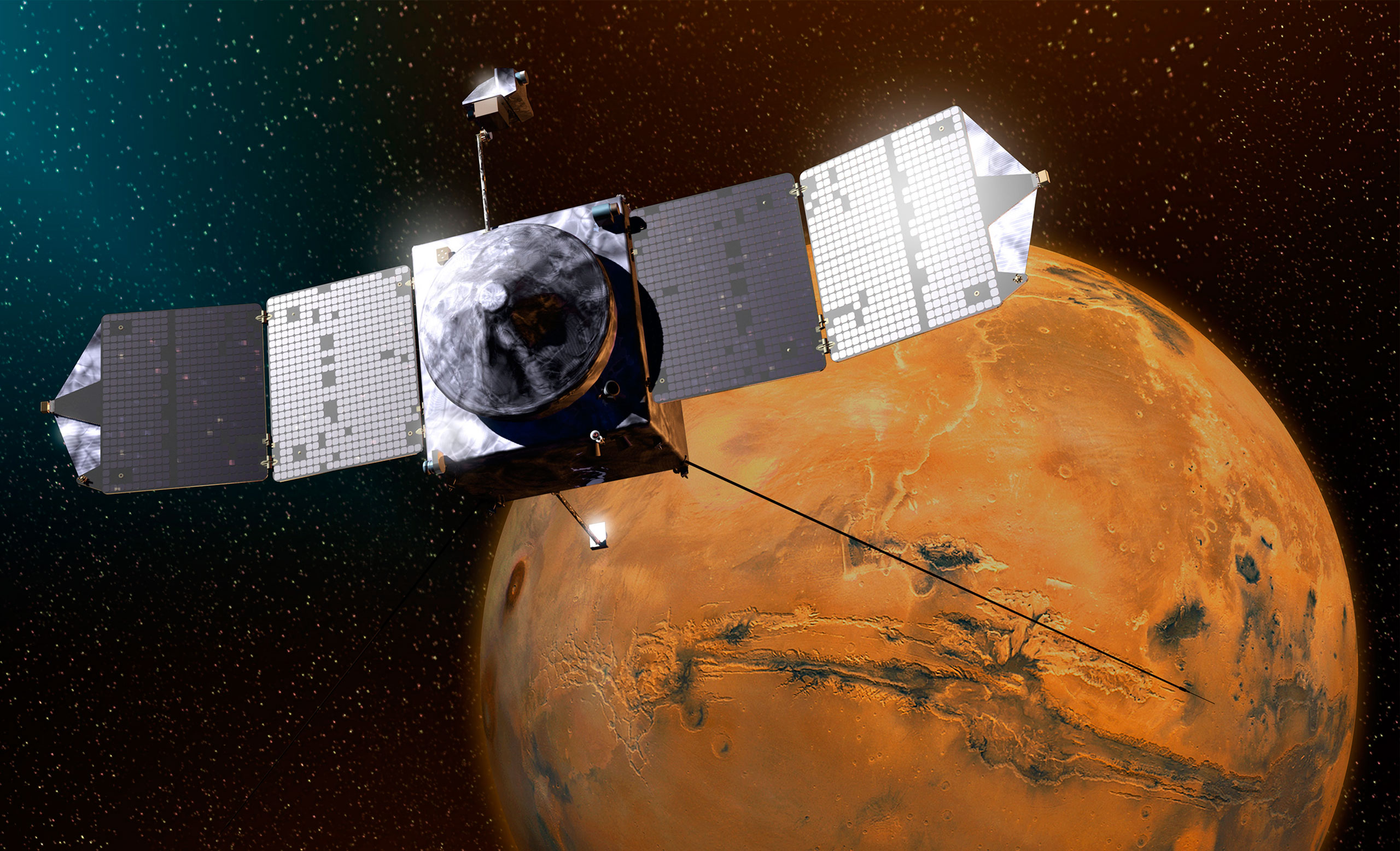 09 23 2014 Ephemeris Nasa S Maven Satellite Is In