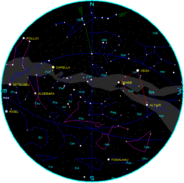 Star Chart t for November 2014