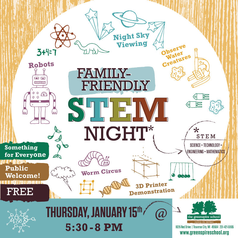 Family STEM Night At Greenspire