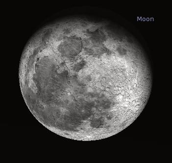 Moon thru binocs