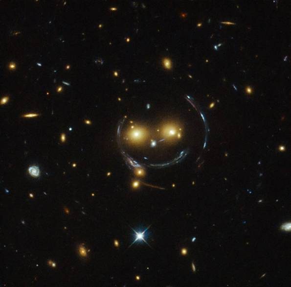 Galactic Smiley Face