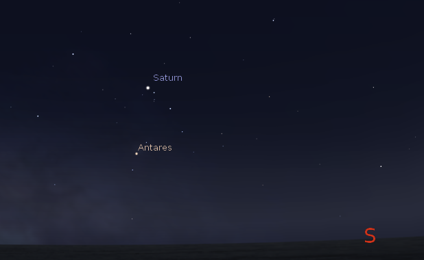 02 04 2015 Ephemeris We Have 4 Bright Planets And A