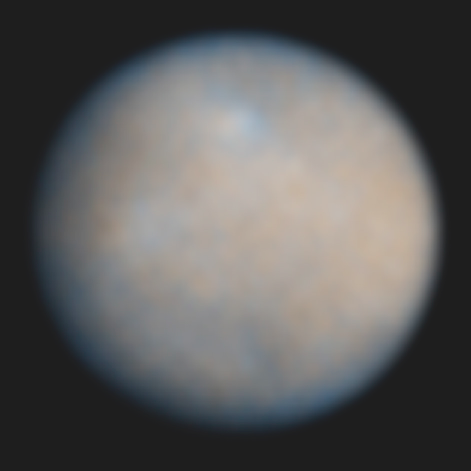Ceres from Hubble
