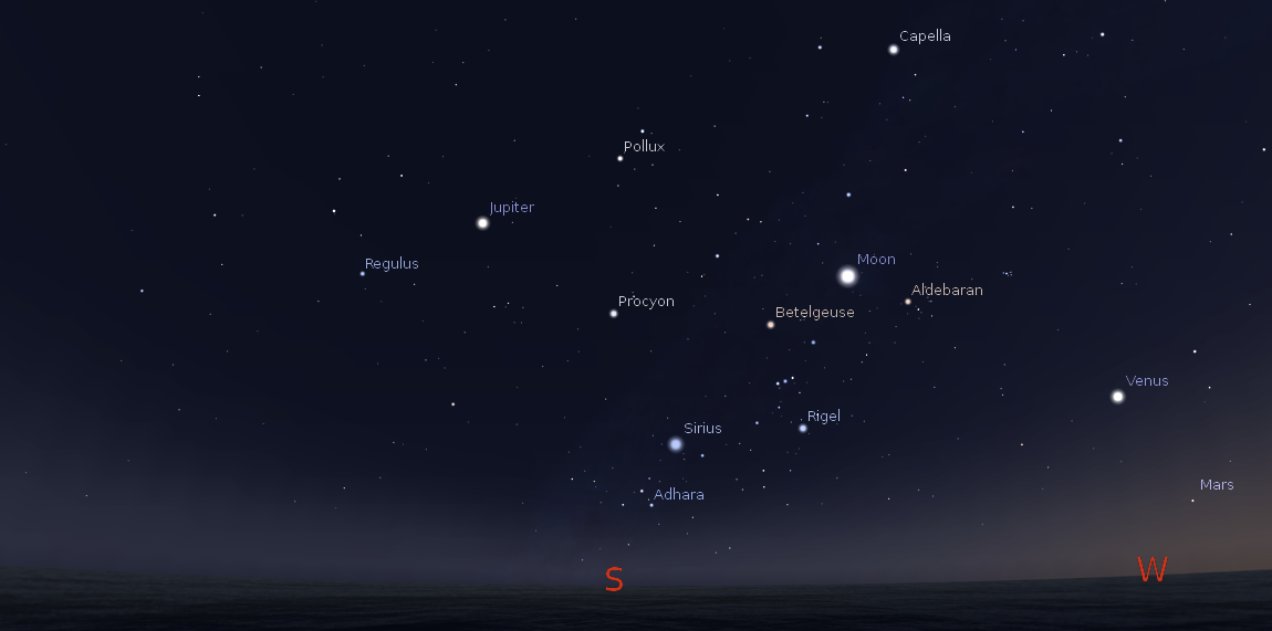 visible planets tonight november 25 - photo #7
