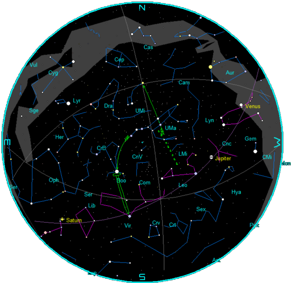 May 2015 Star Chart