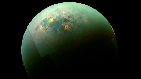 Titan's seas