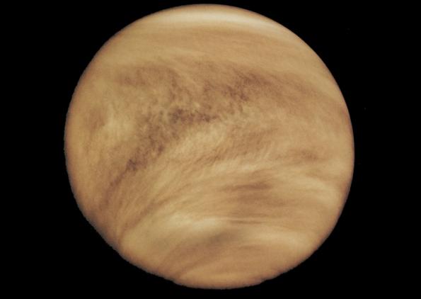 Venus' clouds