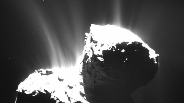 Still another angle on Comet 67P