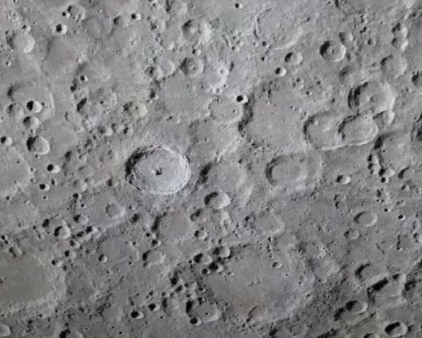Lunar highlands