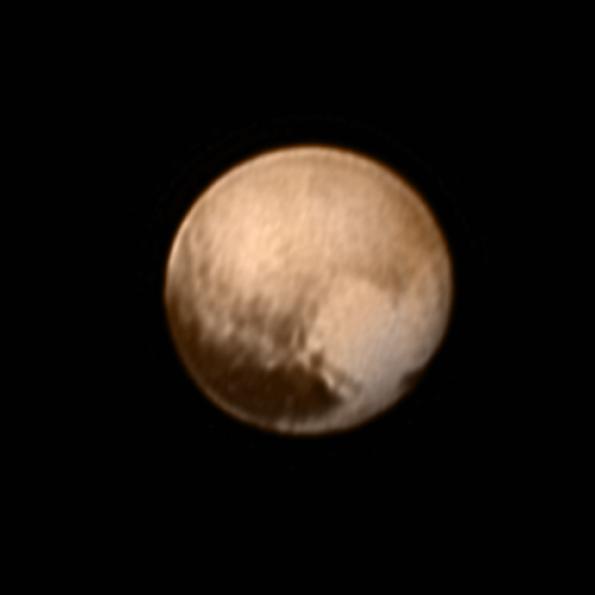 Pluto hearts us