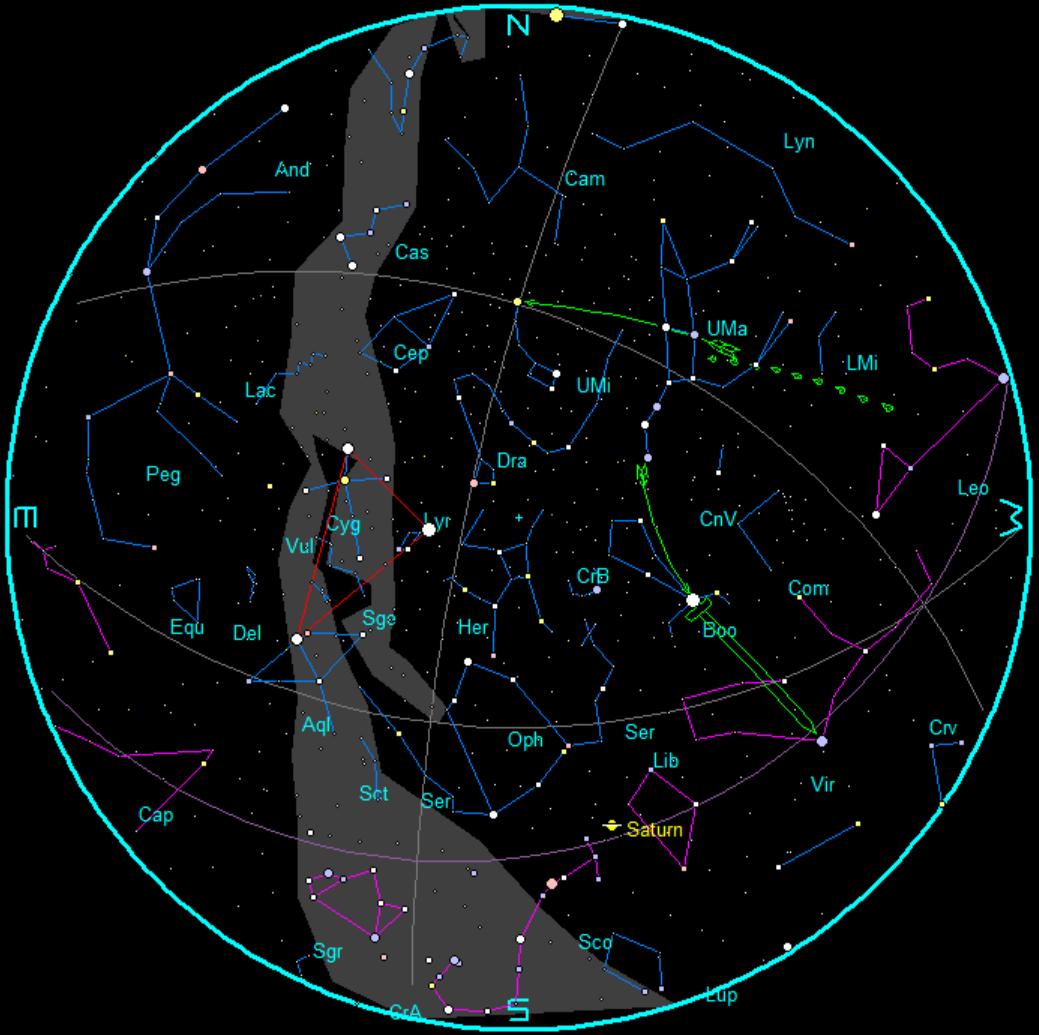 south delta aquarid meteor shower bob moler 39 s ephemeris blog
