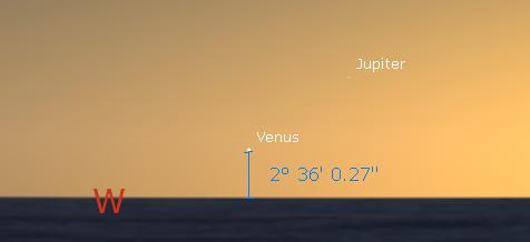 Venus & Jupiter
