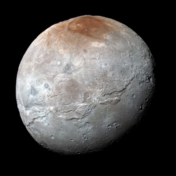 Charon in color