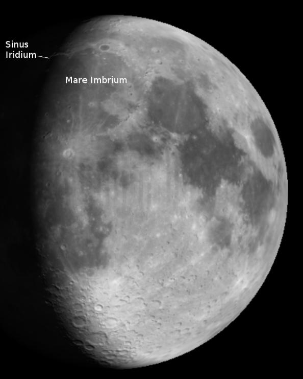 Sinis Iridium on Moon Globe