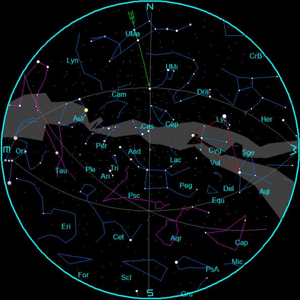 November 2015 Star Chart