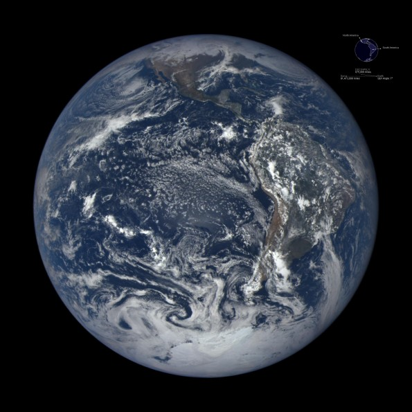 The Earth near December solstice