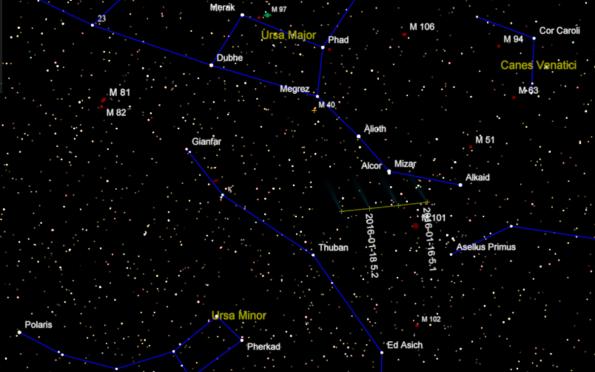 Comet Catalina