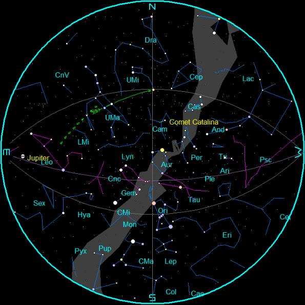 February Star Chart