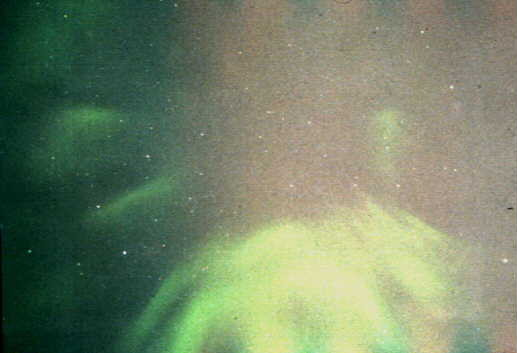 Aurora overhead