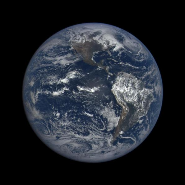The Earth near the March Equinox