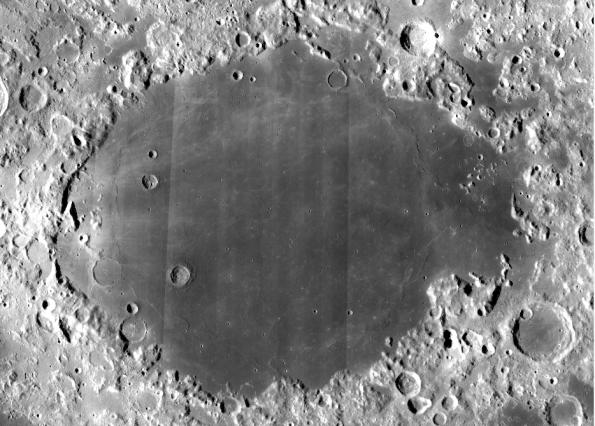Mare Crisius via LRO