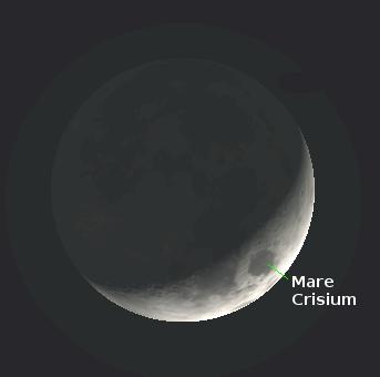 Moon proper orientation