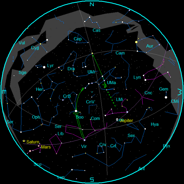 May 2016 Star Chart